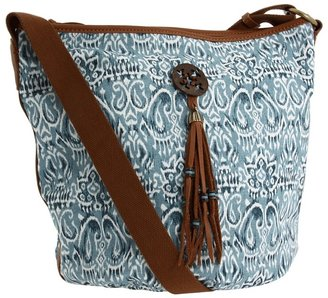 Lucky Brand San Clemente Bucket Crossbody (Blue Multi) - Bags and Luggage