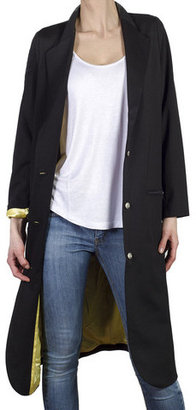 d.brand Thea Long Jacket Black