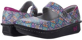 Alegria Paloma (Black Leather) Women's Maryjane Shoes