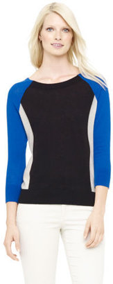 Club Monaco Macie Block Cashmere Sweater