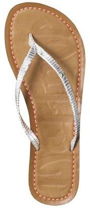 Mad Love Women's Lianne Metallic Flip Flops