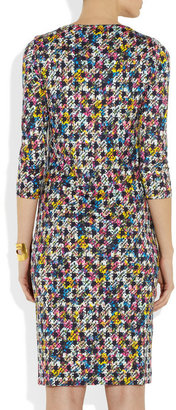 Erdem Reese printed stretch-jersey dress