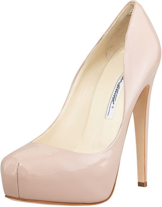 Brian Atwood New Maniac Patent Leather Pump