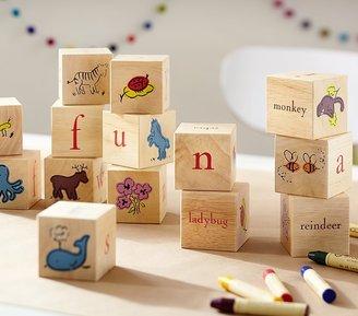Pottery Barn Kids PBK Learning Blocks