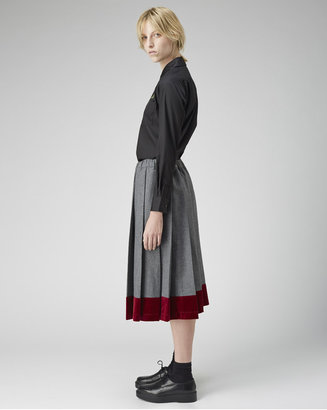 Comme des Garcons Girl pleated skirt