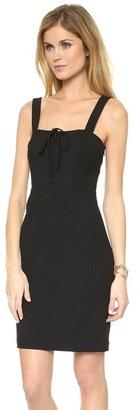 Diane von Furstenberg Scottland Lace Up Dress
