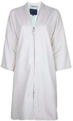 Giorgio Armani zip-up coat