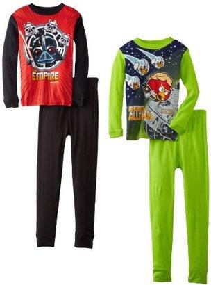 Star Wars Angry Birds Boys 8-20 Cotton Pajama Set