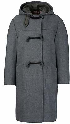 John Lewis & Partners School Unisex Duffle Coat, Grey
