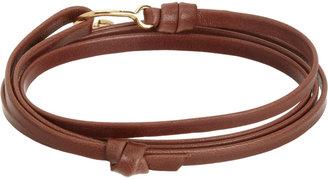 Miansai Gold Mini Hook Wrap Bracelet