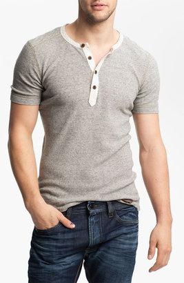 Diesel Waffle Knit Henley T-Shirt