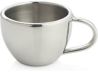 Crate & Barrel Stainless-Steel Espresso Cup