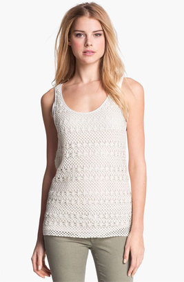 Vince Camuto Two by Crochet Tank