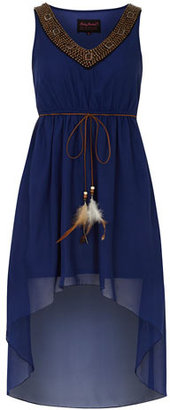 Dorothy Perkins Bead neck dip dress