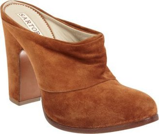 Sartore Ruched Mule Bootie