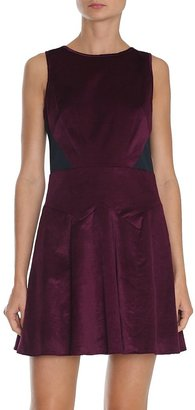 Tibi Stretch Velvet Dress