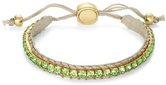 Brooks Brothers Suede and Crystal Bracelet