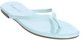 Wet Seal WetSeal Wrapped Flip Flop Sandal Mint