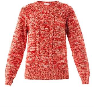 Etoile Isabel Marant Delta melange-knit sweater