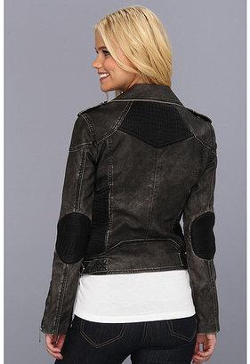 Sam Edelman Circus by Faux Leather Moto Jacket