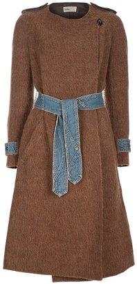 Kolor Belted coat