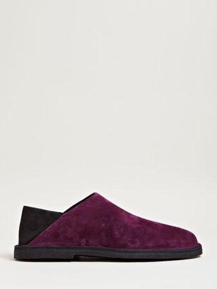 Ann Demeulemeester Men's Nubuck Crepe Sole Shoes