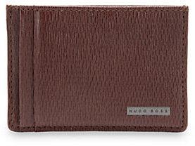 HUGO BOSS Luber Leather Card Holder