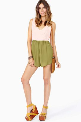 Nasty Gal Sugar High Romper