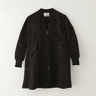 Acne Studios eclipse shine bomber jacket