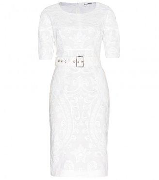 Jil Sander Reactor jacquard dress
