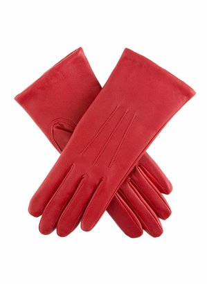 Dents Emma Women's Classic Leather Gloves BERRY 7