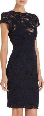 L'Agence Floral Lace Dress