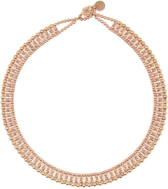 Philippe Audibert Palms gold-plated pewter necklace
