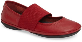 Camper 'Right Nina' Leather Ballerina Flat