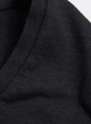 Topman Black Grunge Scoop T-Shirt