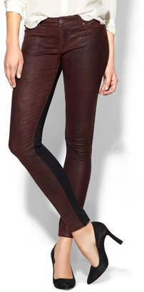 DL1961 Leather Front Emma Legging