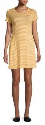 Lord & Taylor Design Lab Lace-Up Dress