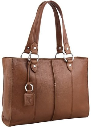 Ellington Leather Goods Joni Tote (Taupe) - Bags and Luggage