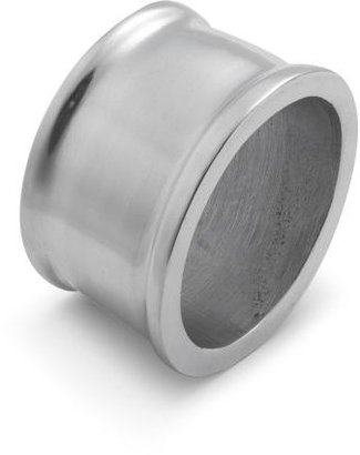 Sur La Table Oval Aluminum Napkin Ring, 2""