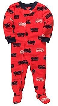 Carter's Fire Engine Footed Pajamas - Boys 2t-5t