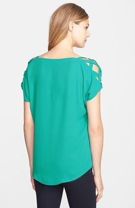 Nordstrom MOD.lusive by Bobeau Open Shoulder Top Exclusive)