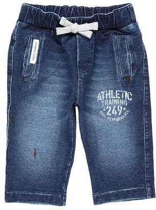 Dolce & Gabbana Denim Plush Trouser (Infant) (Blue) - Apparel