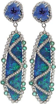 COLETTE JEWELRY Boulder Opal Canvasite Drop Earrings