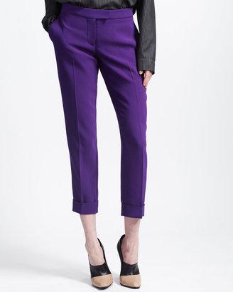 Stella McCartney Cropped Slim Pants