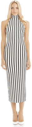 Torn By Ronny Kobo Claudia Dress Stripes