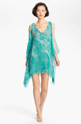 Jay Godfrey 'Brin' Digital Print Kimono Dress