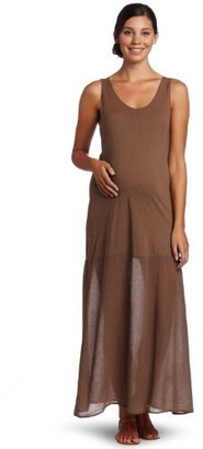 Velvet by Graham & Spencer Velvet Women's Maternity Kinnard Racerback Maxi Dress