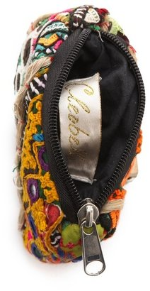 Cleobella Raj Embroidered Coin Pouch