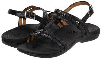 Orthaheel Seek Strappy Sling Back (Black) - Footwear