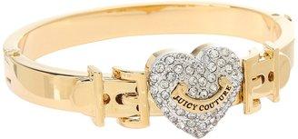 Juicy Couture Juicy Couure Pave Hear Buckle Bangle Bracele